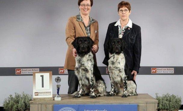 Lobke en Bas winnen de koppelklasse Eindhoven 2013